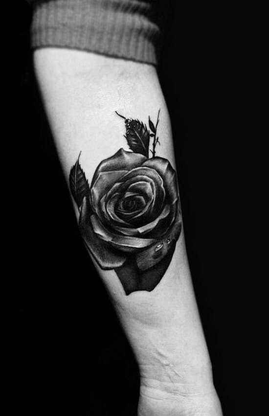 Что значит роза на руке – Тату роза на руке у девушки ...
