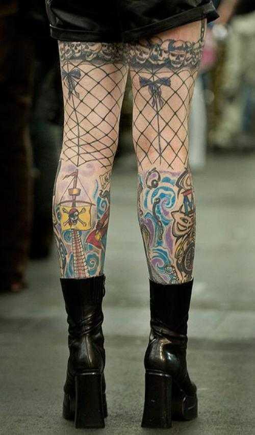 Эскизы тату на бедре для девушек – Эскизы татуировок для ...