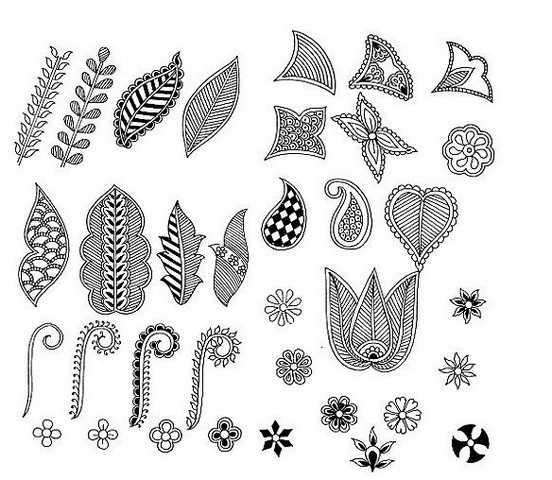 Эскизы татуировки хной на руке – Мехенди на руке: легкие ...