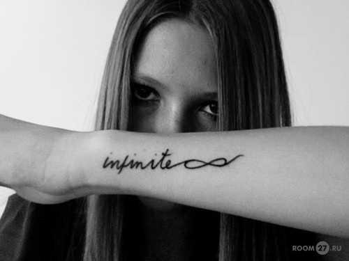 Какую татуировку можно сделать на руке надпись – Мужские ...