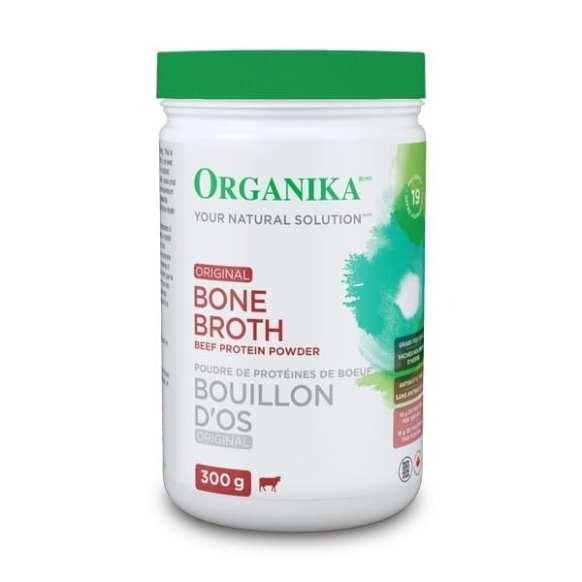 مسحوق مرق عظام البقر عشبية المرعى Organika Bone Broth Protein Beef