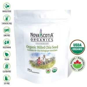 بذور الشيا اورغانغNova Scotia Organics Organic Milled Chia Seed