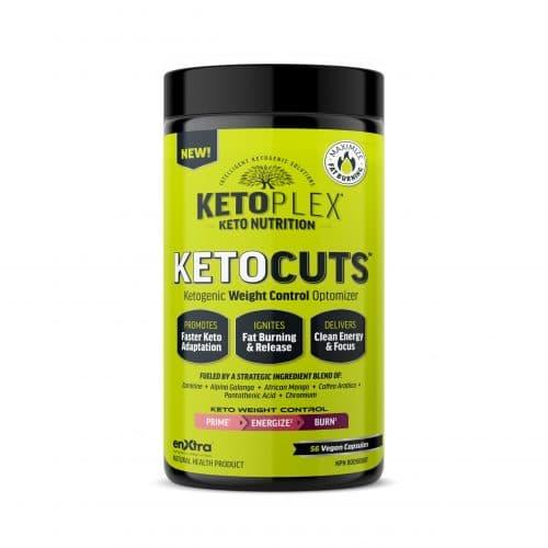 مسرع حرق الدهون KETOPLEX® KETOCUTS™ Ketogenic Fat Metabolism Optimizer
