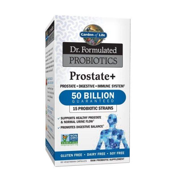 بروبيوتك للبروستات Garden of Life Prostate+ 50billion 30Vcaps