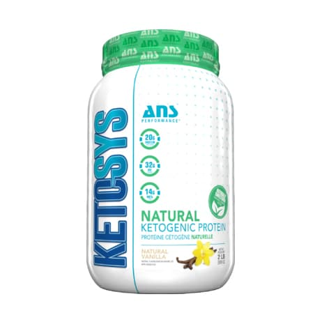 بروتين كيتو ANS Performance KETOSYS Protein Powder Vanilla