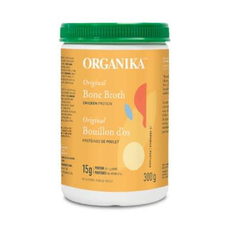 مرق عظام الدجاج Organika Chicken Bone Broth Protein Powder 300g