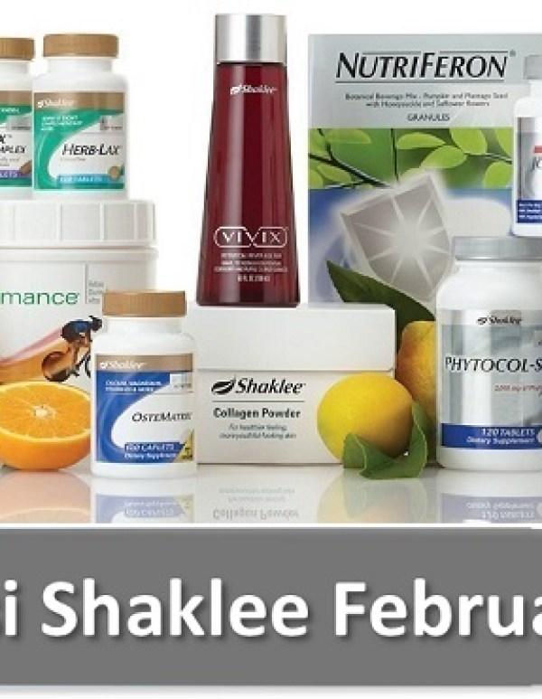Senarai Harga Produk Shaklee 2016 ~ Promosi Shaklee Februari 2016