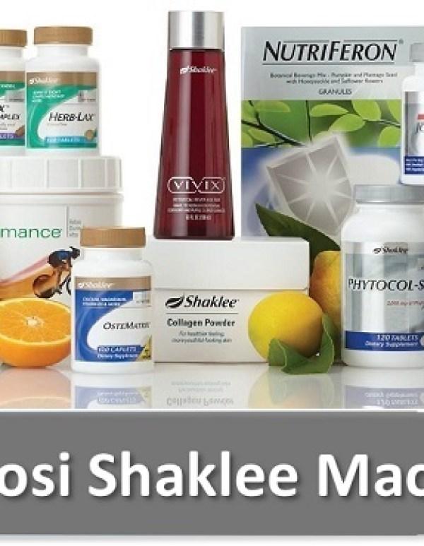 Senarai Harga Produk Shaklee 2016 ~ Promosi Shaklee Mac 2016
