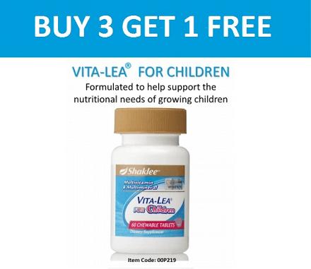 Vita Lea For Children Shaklee Harga 2016