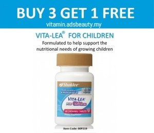 Vita Lea For Children Shaklee Harga 2017