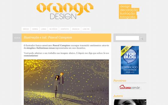 Orange-Design