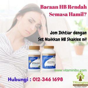 Naikkan HB Untuk Ibu Hamil - Cara Atasi Masalah Bacaan Hemoglobin Rendah