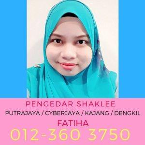 Pengedar Shaklee Putrajaya - Pengedar Shaklee Cyberjaya - Pengedar Vivix Shaklee Putrajaya - Agen Vivix Shaklee Putrajaya