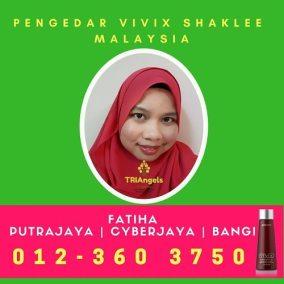 Pengedar Shaklee / Pengedar Vivix Shaklee Putrajaya, Cyberjaya, Semenyih, Bangi dan Kajang