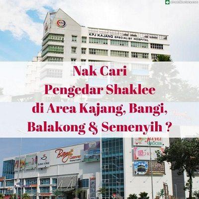 Pengedar Shaklee Kajang, Balakong, Bangi Dan Semenyih 019-335 2375