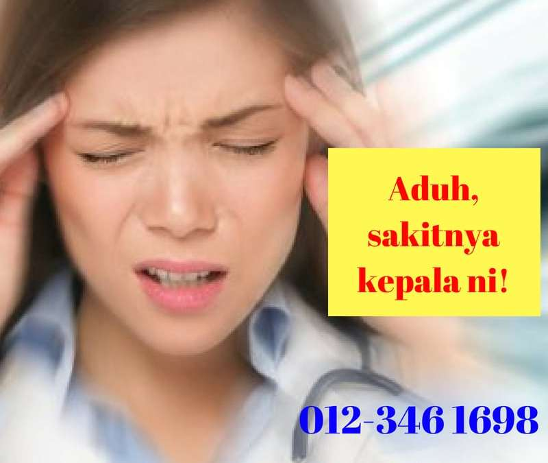 Cara Hilangkan Sakit Kepala Akibat Migrain | Atasi Migrain Tanpa Ubat