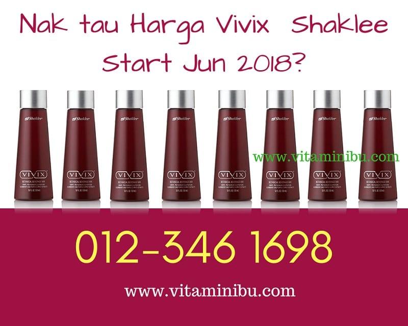 Harga Vivix Shaklee Murah : Harga Vivix Shaklee 2018 TANPA GST