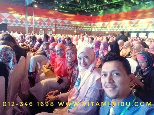 Rezeki Naik Stage Shaklee National Convention 2018 - Pengedar Shaklee - Shaklee Malaysia - Shaklee Independant Distributor
