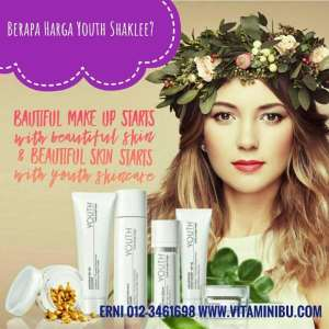 Harga Youth Shaklee - Harga Shaklee Youth - Skincare Youth Shaklee - Youth Shaklee
