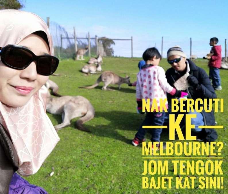 Bajet Bercuti Ke Melbourne Dengan Anak Kecil