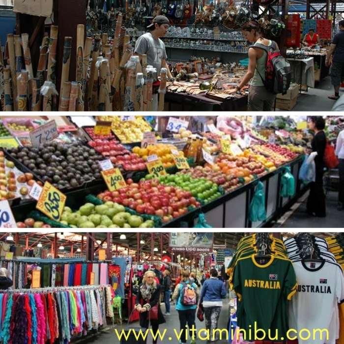 Pengalaman Bercuti Ke Melbourne Dengan Anak Kecil - Percutian Ke Melbourne - Queen Victoria Market