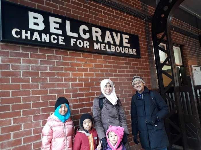 Percutian Ke Melbourne - Puffing Billy - Stesen Keretapi Wap