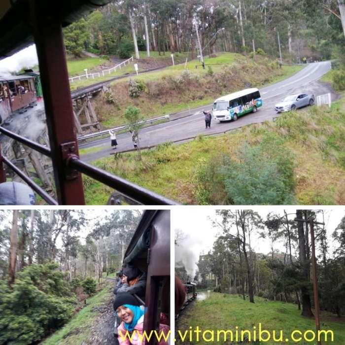 Tempat Percutian Menarik Di Melbourne - Puffing Billy