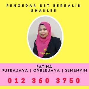 Pengedar Set Bersalin Shaklee Putrajaya - Pengedar Set Bersalin Shaklee Cyberjaya - Agen Set Bersalin Shaklee Semenyih