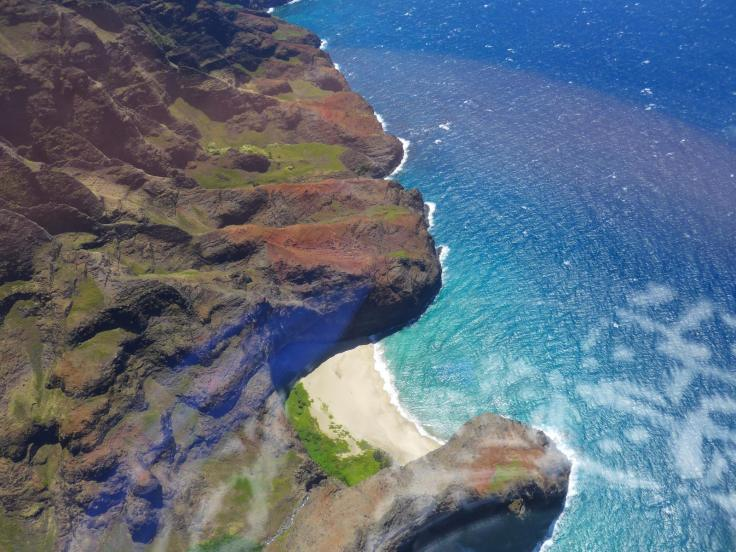 Travel to Hawaii -helicopter