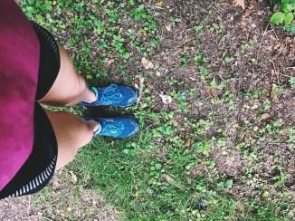 I love the feeling of the earth underneath my feet