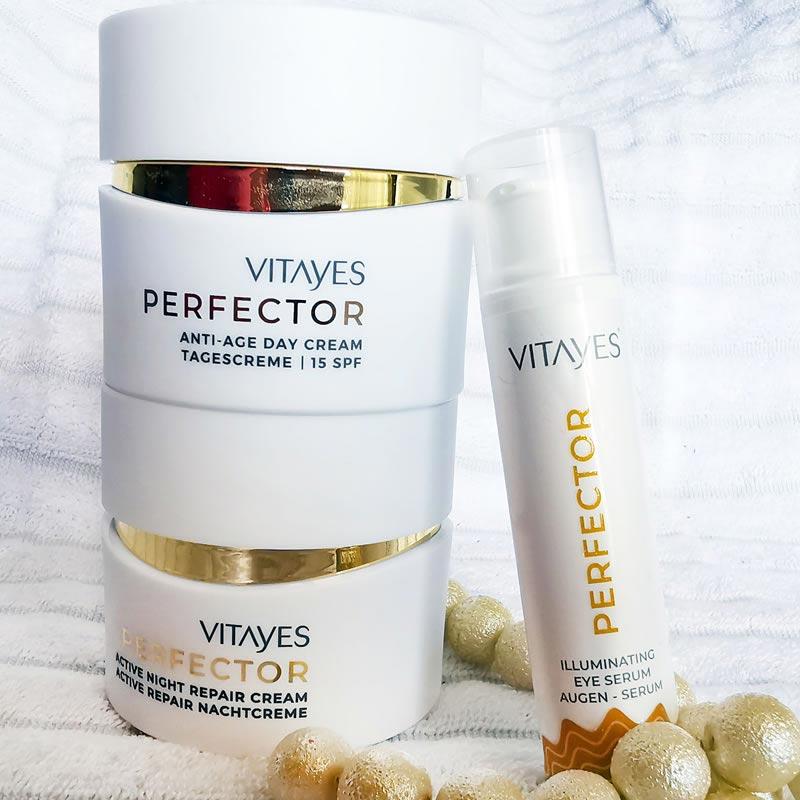 PACCHETTO PERFECTOR IDRATAZIONE giorno e notte, 24 ore di idratazione intensiva, trattamento anti rughe per la pelle matura, nutriente, rigenerante, illuminante