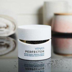 PERFECTOR crema notte nutriente e rigenerante, promuove i processi di riparazione cellulare che avvengono durante la notte