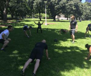 Group Fitness Sydney. Bootcamp.