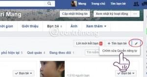 Cách chặn người khác xem bạn bè Facebook