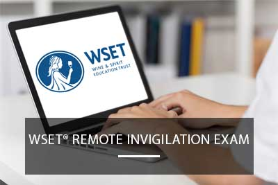 wset remote invigilation exam