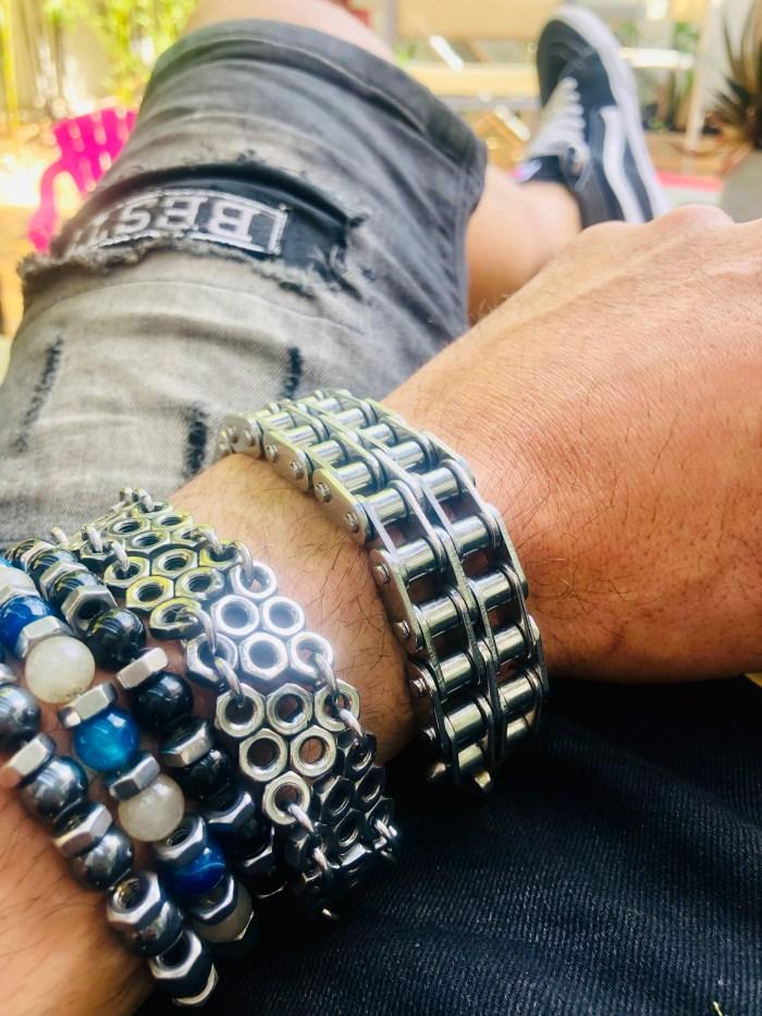 bracelet homme vito art métal