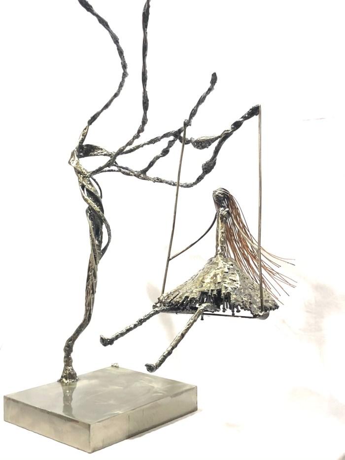 Sculpture métal Vito
