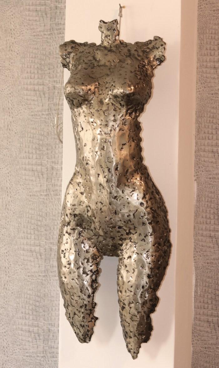 Sculpture en métal corps de femme VitoArtMétal
