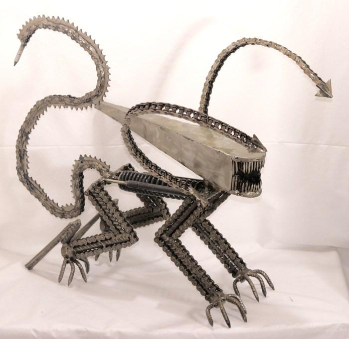 Alien by VitoArtMétal sculpture sur métal xénomorphe
