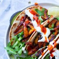 Tacos z owocem chlebowca [ jackfruit ]