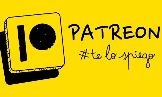 Che cos'è Patreon? Te lo spiego!