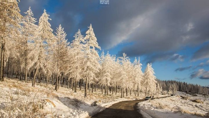 há neve na Serra da Estrela