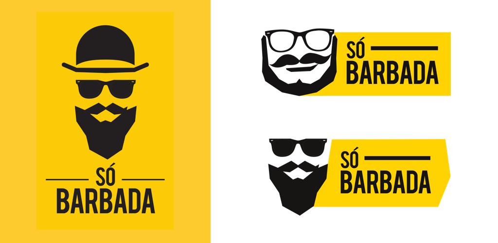 SóBarbada Logos