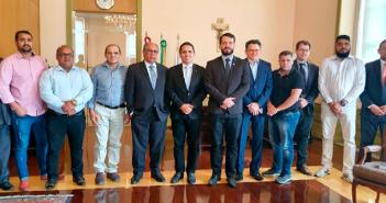 Prefeito José Caetano e comitiva de governo participaram de reunião importante no tribunal de justiça –PA.