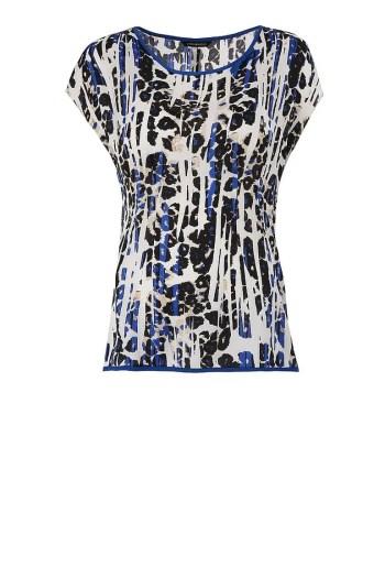 Wzorzysta bluzka Vito Vergelis w zwięrzęcy nadruk