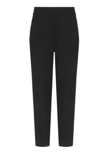 Dzianinowe spodnie damskie czarne marki Vito Vergelis