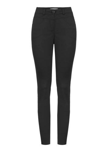 czarne spodnie damskie denim marki Vito Vergelis