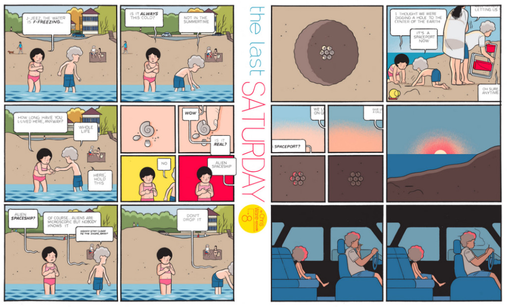 The Last Saturday: a HQ do Chris Ware pro Guardian – Parte #9