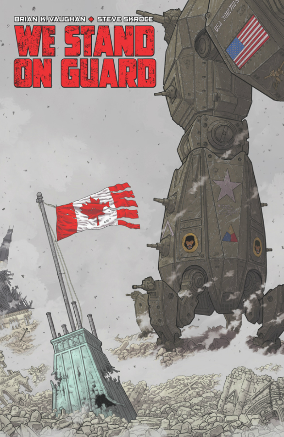 We Stand on Guard: a nova HQ de Brian K. Vaughan pela Image