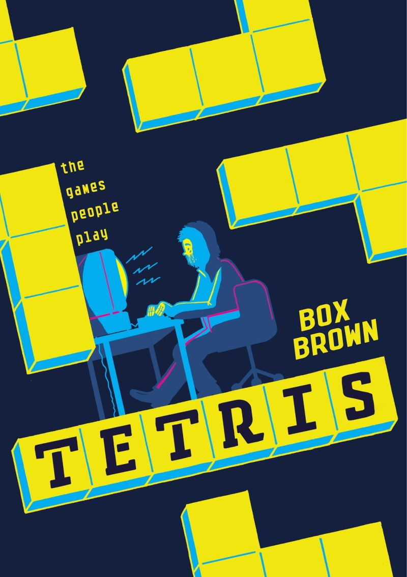 Tetris: The Games People Play: confira a capa da nova HQ de Box Brown